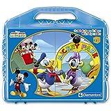 Clementoni 41130.6 La Casa de Mickey - Puzzle de cubos para bebés (12 cubos)