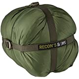 Elite Survival Systems Recon 5 Sleeping Bag, Olive Drab, Rated to -4 Degrees Fahrenheit, Olive