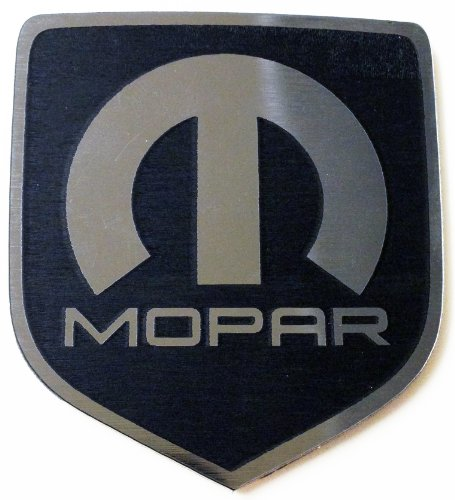 Dodge Neon Srt4 Steering Wheel Emblem MOPAR Black (Dodge Emblem For Steering Wheel compare prices)