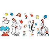 Cat in the Hat(TM) Large Characters Bulletin Board Set - 15 Pieces Ranging From 4