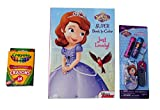 Disney's Sofia the First Bundle of Cool Lips and Coloring Magic. Three item bundle.