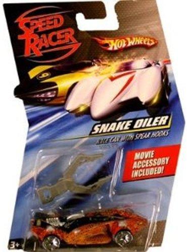 Speed Racer 1:64 Die Cast Hot Wheels Car Snake Oiler with Spear Hooks - 1