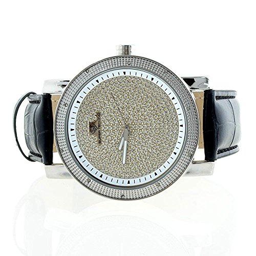 Super Techno Mens Genuine Diamond Watch 0.10 Cts M6034 (Watch Techno Watch compare prices)