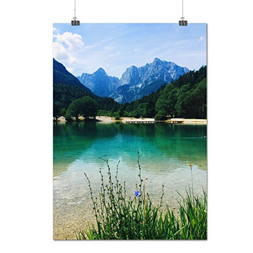 mountain-scenery-wild-lake-view-matte-glossy-poster-a1-84cm-x-60cm-wellcoda
