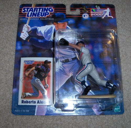 2000 Roberto Alomar MLB Starting Lineup Figure