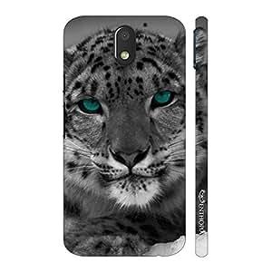 Enthopia Designer Hardshell Case Blue Eyed Cat Back Cover for Motorola Moto E3 Power