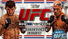 2012 Topps UFC Moment of Truth Independence Edition 148 Expo Box