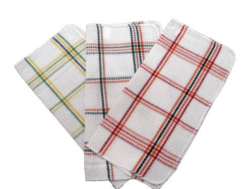 Assorted Waffle Weave Dish Cloths set of 6