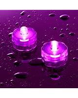 Offre Spéciale : Lot de 20 Bougies Etanches et Submersibles aux LED Roses de Lights4fun