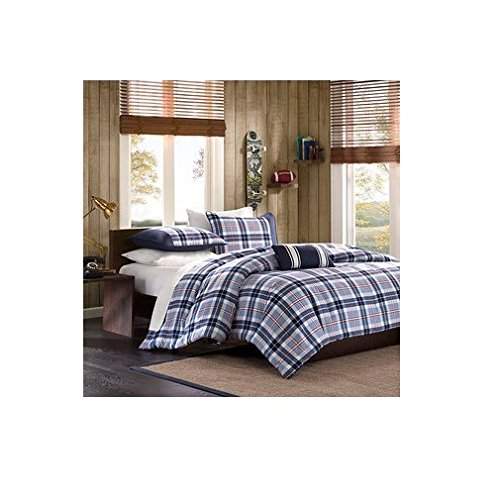 Elliot Plaid Comforter Set Size: Full/Queen