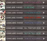 Charlaine Harris Charlaine Harris Collection 8 Books RRP £55.92: Dead to the World, Dead as a Doornail, All Together Dead, Club Dead, Definitely Dead, Dead Until Dark, From Dead to Worse, Living Dead in Dallas (True Blood)