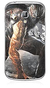 UPPER CASE™ Fashion Mobile Skin Vinyl Decal For Samsung Galaxy S Duos S7562 [Electronics]