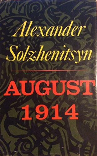 August 1914, Alexander Solzhenitsyn