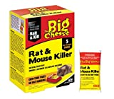 The Big Cheese 5 x 40g Rat and Mouse Killer (Bait Packs) damaged box.