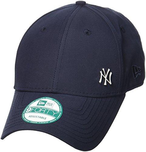 NEW ERA cappellino MLB Flawless Logo Basic, Unisex, Cap MLB Flawless Logo Basic, blu navy, Taglia unica