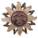 Grasslands Road Celestial Sun Face Plaque