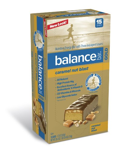 Balance Bar Gold Caramel Nut Blast 15 Ea Reviews