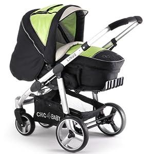 Chic 4 Baby 15014 - Kombi-Kinderwagen Linus inkl. 3-in-1 Tragetasche
