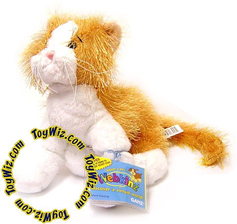 Webkinz Orange Cat