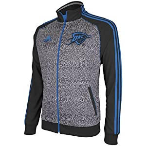 Oklahoma City Thunder adidas All-Over Static Print Jacket from Adidas