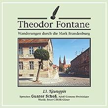 Neuruppin (Wanderungen durch die Mark Brandenburg 13) Hörbuch von Theodor Fontane Gesprochen von: Gunter Schoß