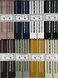 綿の角帯 日本製 献上柄 結び方ガイド付き