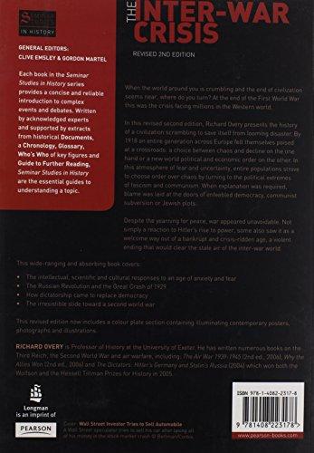 The Inter-War Crisis: Revised 2nd Edition (Seminar Studies)