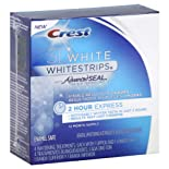 Crest 3d White Whitestrips Dental Whitening Kit, 2 Hour Express 4 Ct