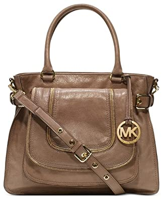 michael kors handbag naomi large satchel brown handbags. Black Bedroom Furniture Sets. Home Design Ideas