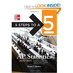 5 Steps to a 5 AP Statistics, -   by Duane Hinders