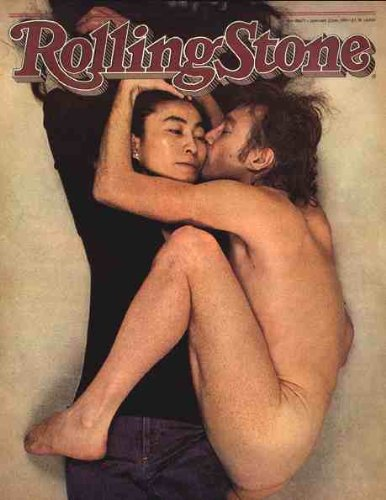 John and Yoko Rolling Stones Magazine