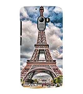Vizagbeats Eiffel Tower Back Case Cover for Lenovo K4 Note