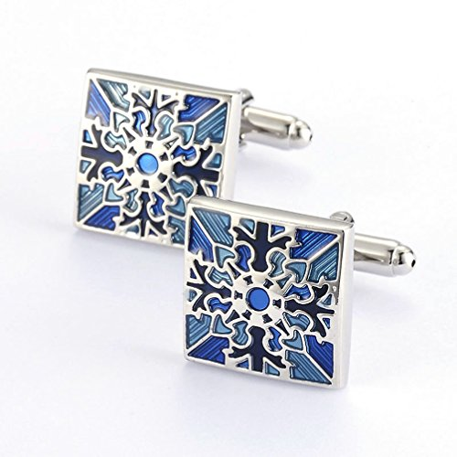 FB-Blue-Color-Polish-Stainless-Steel-Cufflinks-for-Gentleman-Fathers-Day-Gift-Choince