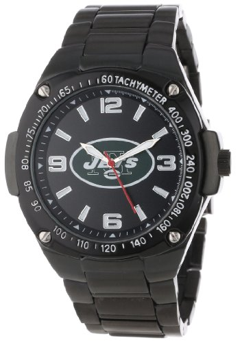 Game Time Unisex NFL-WAR-NYJ Warrior New York Jets Analog 3-Hand Watch at Amazon.com