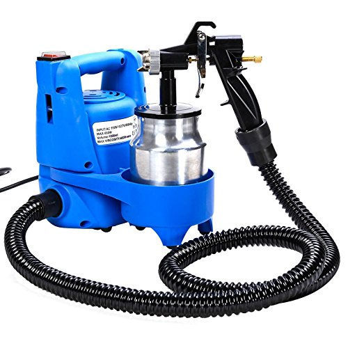 New 650W Electric Paint Painting Sprayer Gun 3-ways W/Copper Nozzle+Cooling Sys (Green Primer Car Paint compare prices)