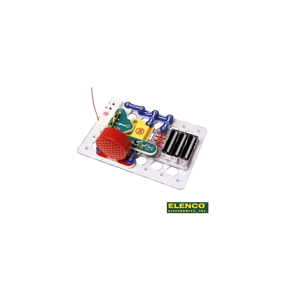 Com Snap Circuits Pro Sc500 Electronics Discovery Kit Toys Games
