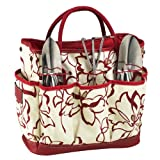 Picnic at Ascot Promenade Garden Tote with Tools
