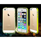 Apple iPhone 6 Plus Case LED Light up Case by Waloo Uses Flash from Camera (Yellow)