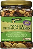 Planters Unsalted Premium Quality Blend Nuts 2 lbs 2.5oz