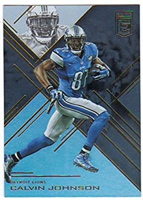 2016 Panini Donruss Elite Football #11 Calvin Johnson Lions