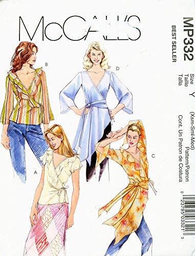 McCalls-BEST-SELLER-MP332-2005-Misses-Flowing-Blouses-in-Two-Lengths-and-Sash-Size-Y-4-14