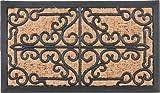 ラバー&コイヤー マット ベルサイユ (サイズ:60x35cm) 玄関マット 天然素材 屋外マット 30200