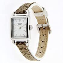 Coach women's watch Hampton collection logo strap 14501321