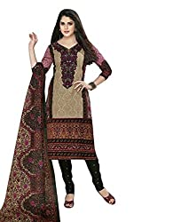 AASRI Women Pure Cotton Unstitched Dress Material