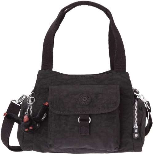 Kipling Women's Fairfax HandBag With Removable Shoulder Strap Black K13164900 Large