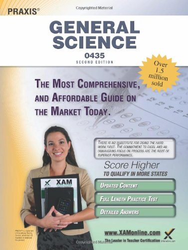 Praxis General Science 0435 Teacher Certification Study Guide Test Prep