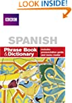 BBC SPANISH PHRASE BOOK & DICTIONARY...