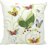 Kathy Ireland Worldwide L1401 Multicolor Decorative Pillow, 18