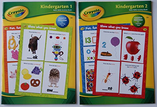 Crayola Creative Activities Kindergarten Book Set - 1