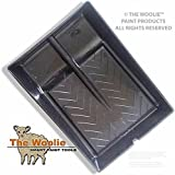 The Woolie Dual 2-Color Split Roller TRAY - Faux Finish Paint Roller TRAY